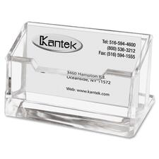 KTK AD30 Kantek Acrylic business Card Holder KTKAD30