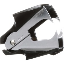 Staple Remover, Standard, Mini - Jaws Style - Steel - Black