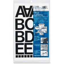 CHA 01050 Chartpak Vinyl Helvetica Style Letters/Numbers CHA01050