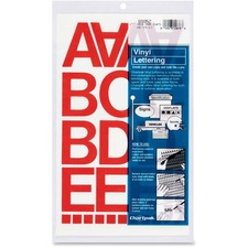CHA 01052 Chartpak Vinyl Helvetica Style Letters/Numbers CHA01052