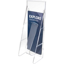 DEF 55601 Deflect-O Stand-Tall Leaflet Display Rack DEF55601