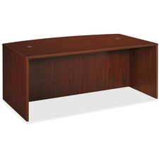 Basyx by HON BL Series Desk Shell with Bow Front Top