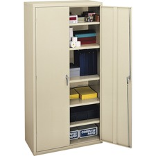 HON SC1872L HON Adj. Shelves Putty Steel Storage Cabinet HONSC1872L