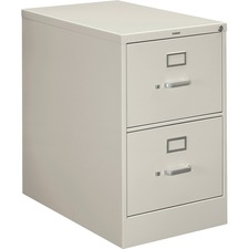 HON 212CPQ HON 210 Series Light Gray Vertical Filing Cabinet HON212CPQ