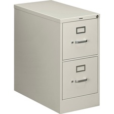 HON 212PQ HON 210 Series Light Gray Vertical Filing Cabinet HON212PQ