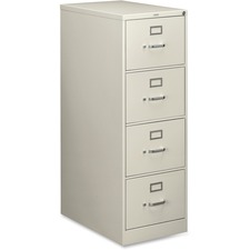 HON 214CPQ HON 210 Series Light Gray Vertical Filing Cabinet HON214CPQ