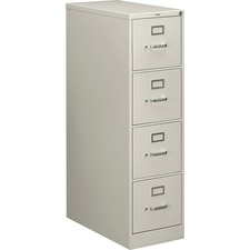 HON 214PQ HON 210 Series Light Gray Vertical Filing Cabinet HON214PQ