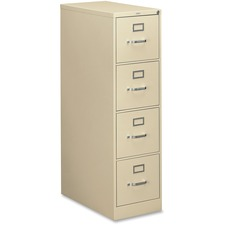 HON 314PL 4 Drawer File, Vertical, Letter, 15