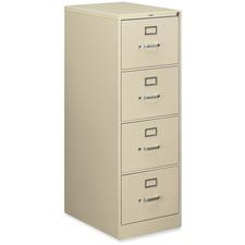 HON 514CPL Hon 510 Series Locking 4-drawer Vertical File HON514CPL