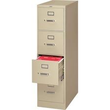HON H324L HON H320 Series Block Drawer Putty Vertical File HONH324L