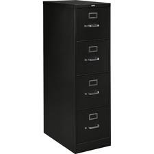 HON H324P HON H320 Series Black Drawer Vertical File HONH324P