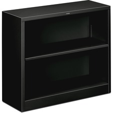 HON S30ABCP HON Brigade Fixed Bottom Shelf Black Steel Bkcases HONS30ABCP