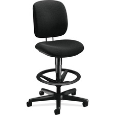HON 5905AB10T HON ComforTask Task Stool with Adjustable Footring HON5905AB10T