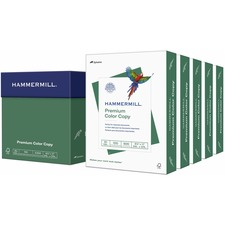 """Color copier Paper, Letter Size - 8.5"""" x 11"""" - 3 Hole Punched - 28lb - 100 GE/114 ISO Brightness - 4000 Sheets/Carton - White"""