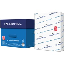 HAM 162032 Hammermill 3-hole Punched Tidal MP Paper HAM162032
