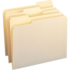 SMD 10338 Smead Top Tab File Folders with Antimicrobial Product Protection SMD10338
