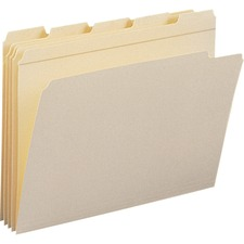 SMD 10356 Smead Reinforced 1/5-cut Tab File Folders SMD10356
