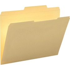 Smead 10376 Manila File Folders with Reinforced Tab - SMD 10376