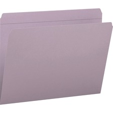 SMD 12410 Smead 2-ply Str-cut Tab Colored File Folders SMD12410