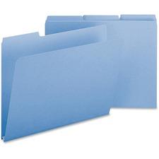 SMD 21530 Smead 1/3 Cut Colored Pressboard Tab Folders SMD21530
