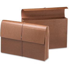 "Smead Case of 25 Smead Leather Like Wallet, Elastic Cord, 3-1/2"" Exp, 15""x10"" at Sears.com"
