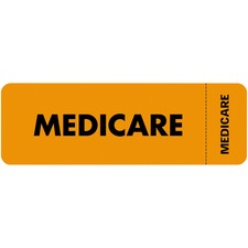 TAB 03080 Tabbies Medicare Insurance Labels TAB03080