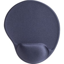 "Compucessory Gel Mouse Pads - 9"" x 10"" x 1"" Dimension - Gray - Gel"