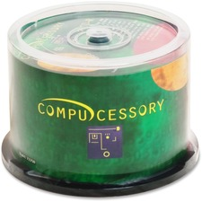 CCS 72250 Compucessory Branded Recordable CD-R Spindle CCS72250
