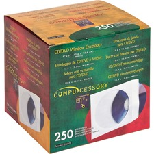 ENVELOPE,CD,WINDOW,WE,250PK
