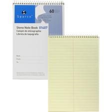 SPR 01407 Sparco Steno Notebooks SPR01407