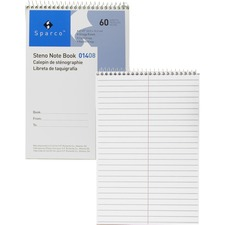 SPR 01408 Sparco Steno Notebooks SPR01408