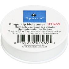 SPR 01569 Sparco 3/8 Oz. Greaseless Fingertip Moistener SPR01569