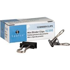 SPR 02300 Sparco Binder Clips SPR02300