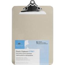 SPR 01861 Sparco Plastic Clipboard SPR01861