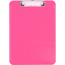 SPR 01868 Sparco Plastic Clipboards w/ Flat Clip SPR01868