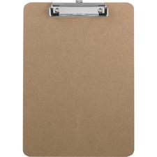 SPR 20894 Sparco Flat Clip Hardboard Clipboard SPR20894