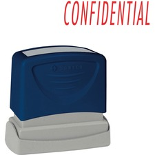SPR 60021 Sparco CONFIDENTIAL Red Title Stamp SPR60021