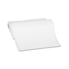 "Sparco Continuous Paper - 11"" x 14 7/8"" - 20 lb Basis Weight - 2700 / Carton - White"