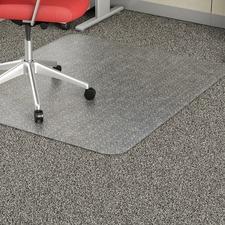 LLR 02158 Lorell Rectangular Low-pile Economy Chairmat LLR02158