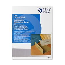 ELI 26022 Elite Image Clear Address Laser Labels ELI26022