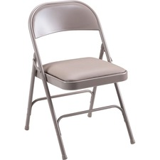 "Lorell Wholesale Deal Lorell Folding Chairs,Padded Seat,19-3/8""x18-1/4""x29-5/8"",4/CT,BG at Sears.com"