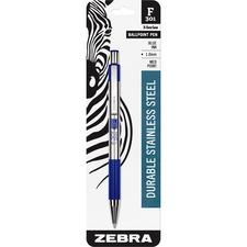 ZEB 27221 Zebra F-301 Stainless Steel Pens ZEB27221
