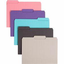 SMD 10295 Smead 1/3 Cut Tab Interior File Folders SMD10295
