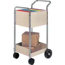 FEL 40924 Fellowes Steel Mini Mail Cart FEL40924