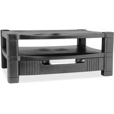 KTK MS480 Kantek 2-Level Monitor Stand w/Drawer  KTKMS480