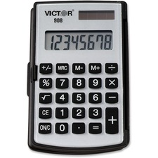 VCT 908 Victor 908 Handheld Calculator VCT908