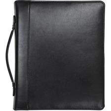 SAM 15540 Samsill Regal Leather iPad Pocket Zipper Binder SAM15540