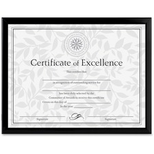 DAX N17000N Burns Grp. U-Channel Certificate Frame DAXN17000N