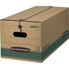 FEL 00773 Bankers Box STOR/FILE Medium-Duty Strength Storage Boxes FEL00773