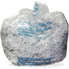 Swingline® 30 Gallon Plastic Shredder Bags, For 500X, 500M, 600X, 600M, 750X, 750M and Large Office Shredders, 25 Box - 30 gal - 25/Box - Plastic - Clear